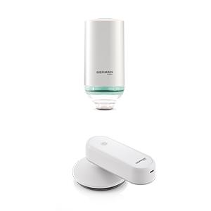 USB 充電旅行熨斗 + USB充電真空收納及保鮮機 (旅行及食物套裝)