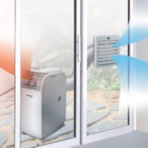百葉窗隔排風裝置 (移動空調適用)