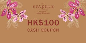 THE SPARKLE COLLECTION 禮券HK$100
