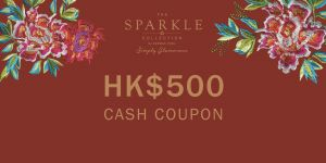 THE SPARKLE COLLECTION 禮券HK$500